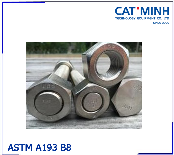 Thanh ren ASTM A193 B8