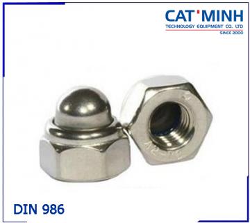 Tán bầu(đai ốc mũ) DIN 986