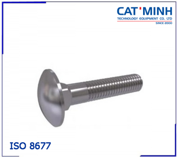 ISO 8677 - Mushroom head square neck bolts