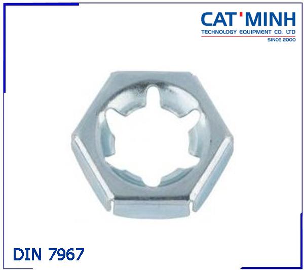 Tán tự khóa trái (đai ốc tự khóa) DIN 7967